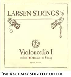 "Larsen up to 16.5"" Viola A String Medium Aluminum/Steel Ball-End"